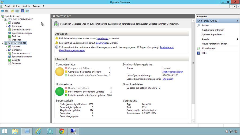 """Willkommen zu """"Windows Server 2012 R2: Update Services (WSUS)"""""""