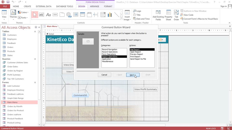 Welcome: Access 2013: Forms and Reports in Depth