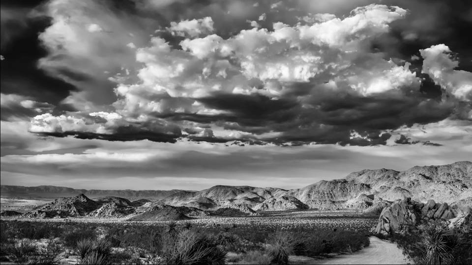 Creating a dramatic landscape with lightroom and photoshop