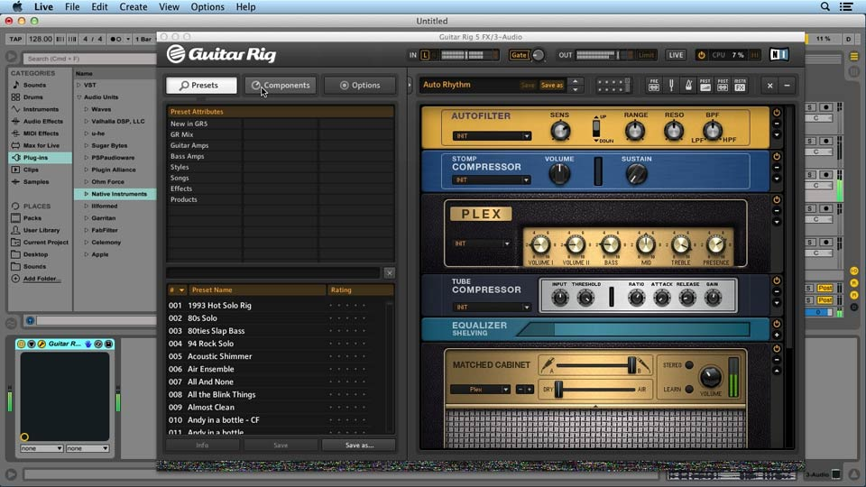 Welcome: Up and Running with GUITAR RIG