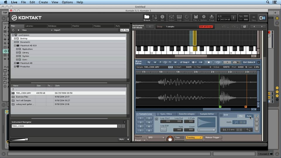 Welcome: Up and Running with KONTAKT 5
