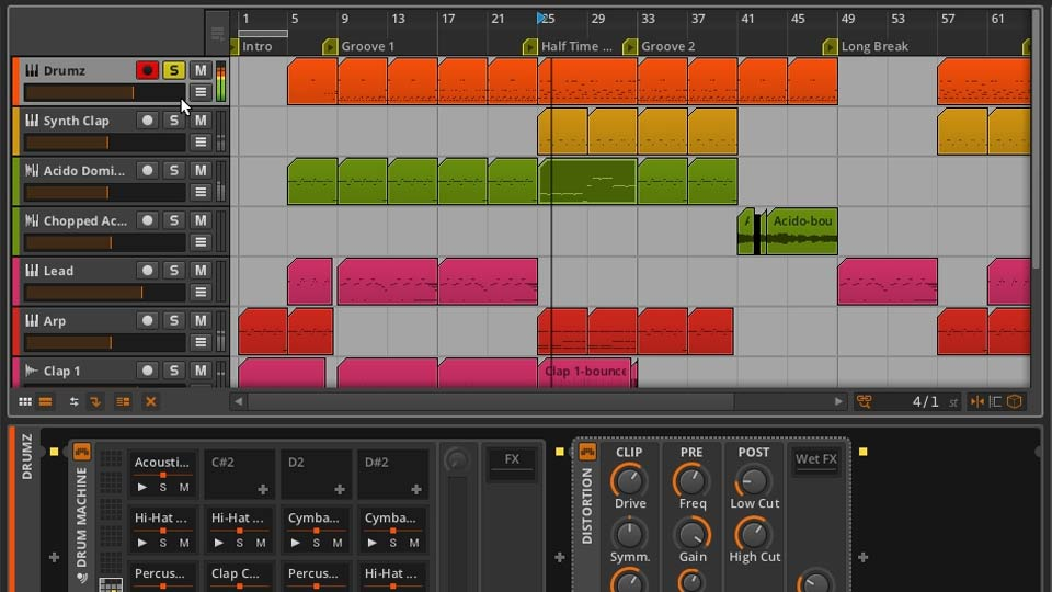 Welcome: Up and Running with Bitwig Studio