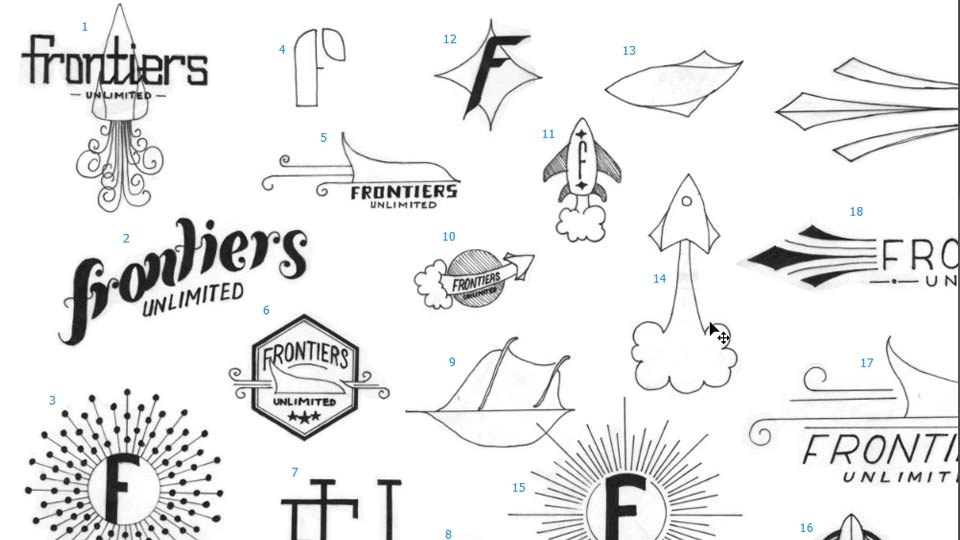 Selecting the perfect font for your logo: Creating and Adapting a Logo