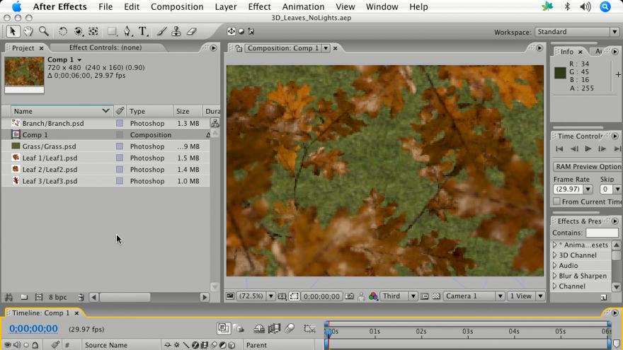 : After Effects 7 and Photoshop CS2 Integration