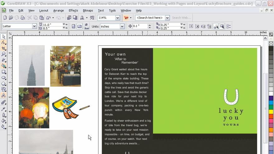 Welcome to CorelDRAW X3: CorelDRAW Graphics Suite X3 Essential Training