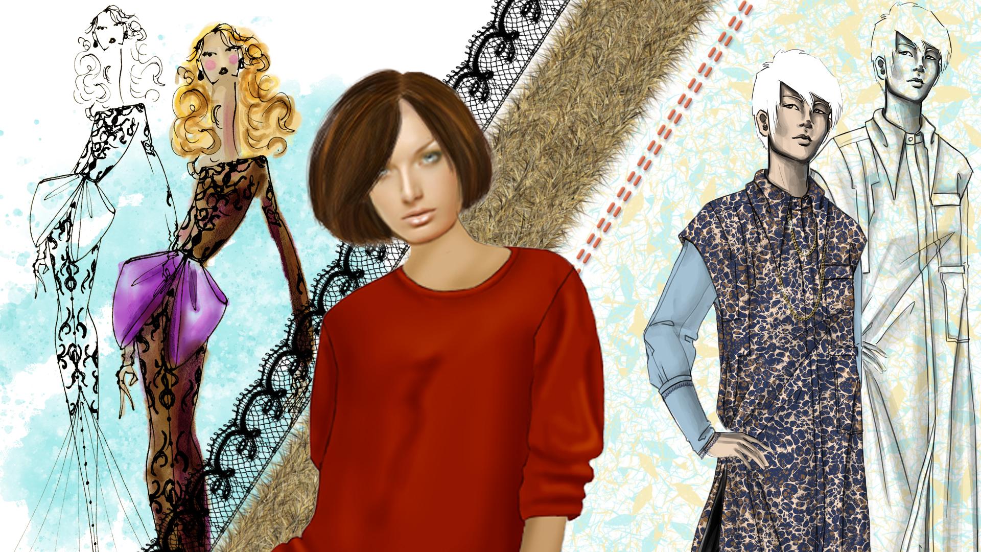 Fashion Design Basics In Photoshop