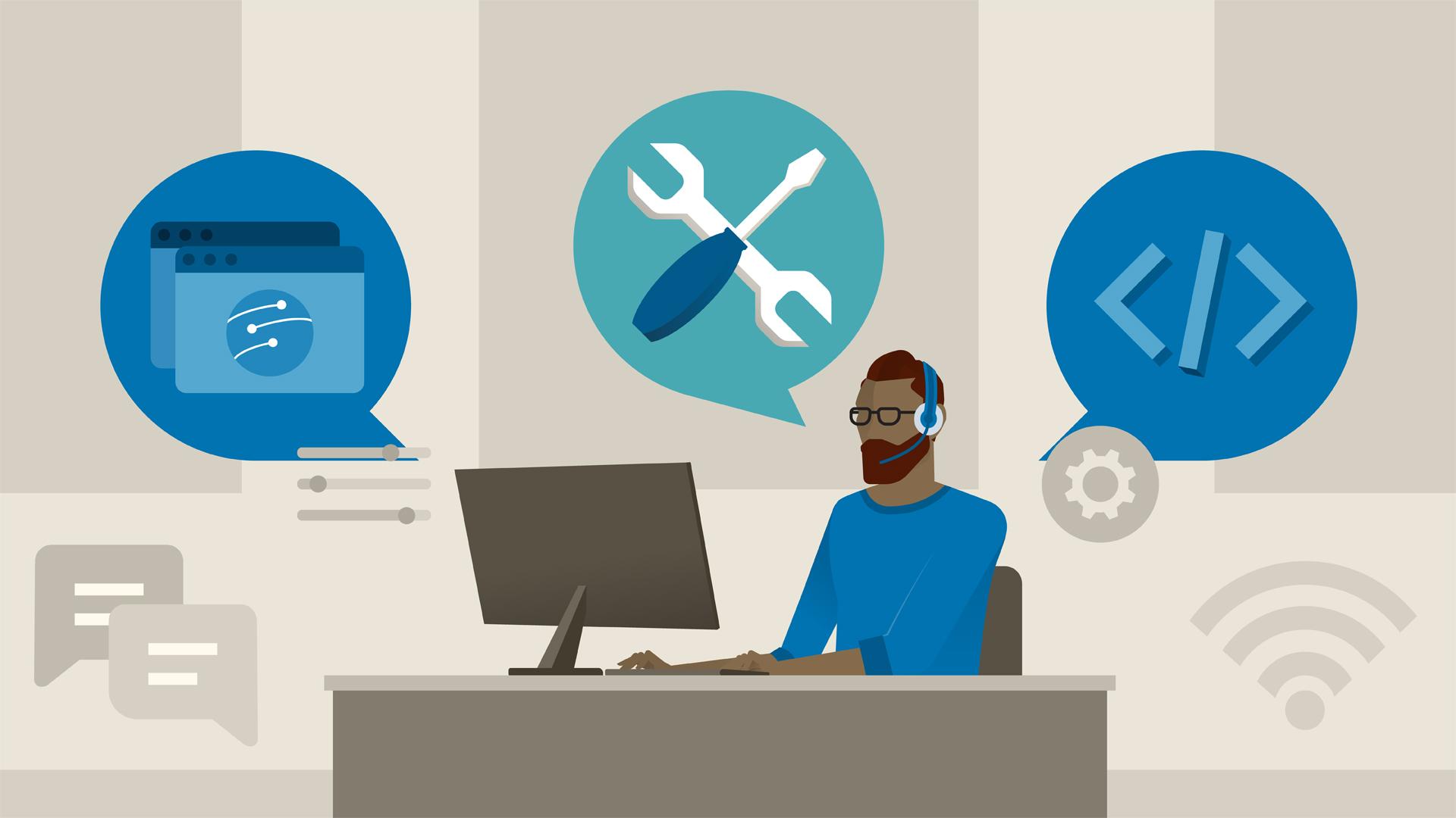 It Service Desk Service Management