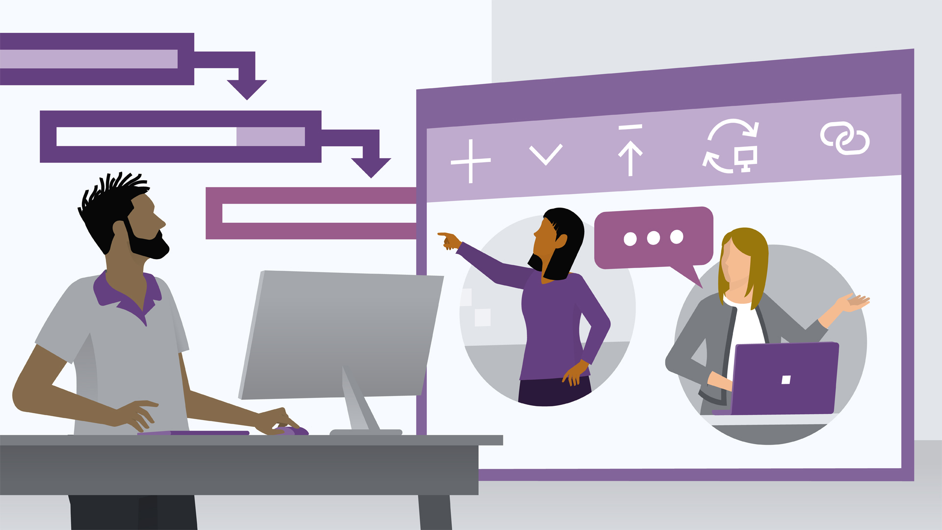 Managing projects with teams, channels, and apps: Managing Projects with Microsoft Teams