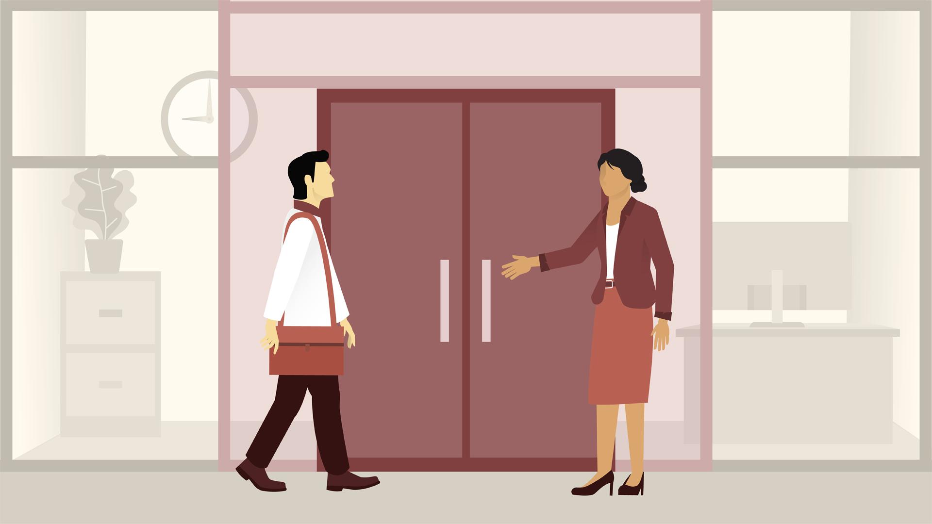 ビジネスマナーの基礎:接客