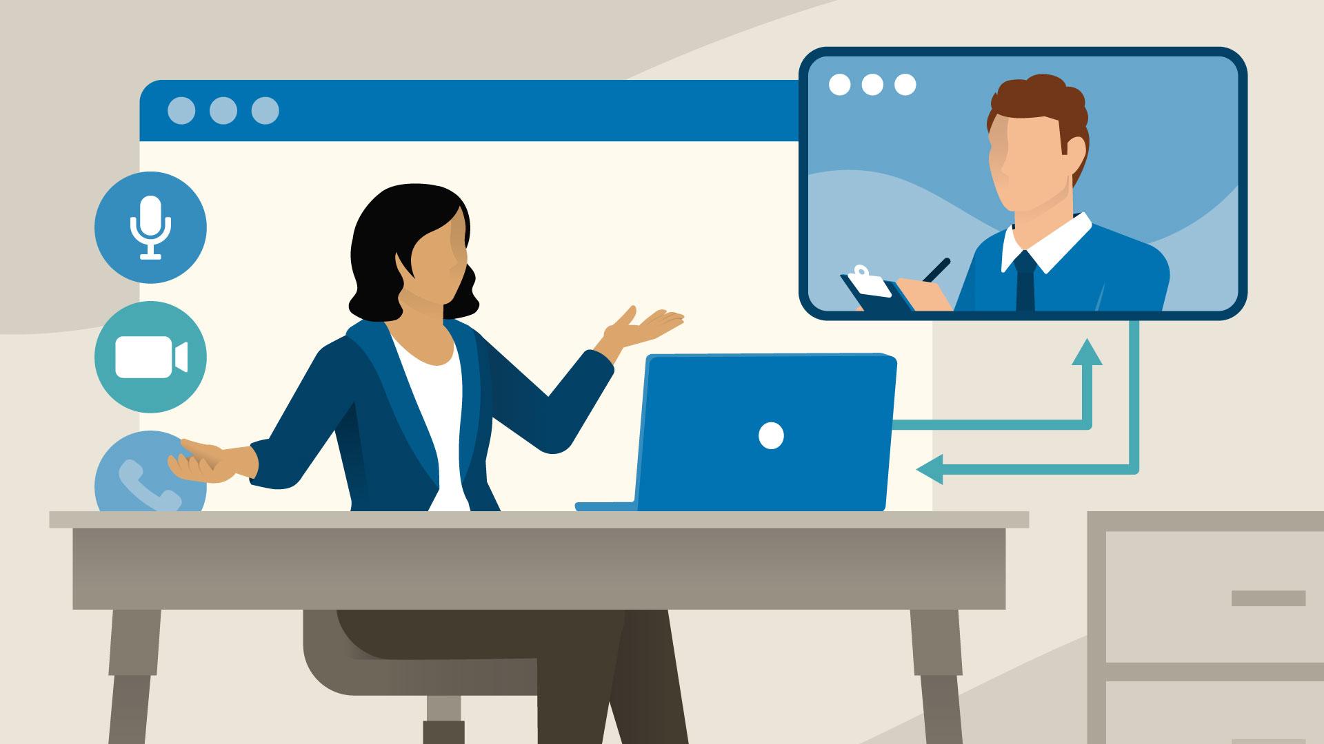 Inglês Comercial: Como Impressionar em Entrevistas de Emprego On-line / Business English: Mastering Your Online Interview