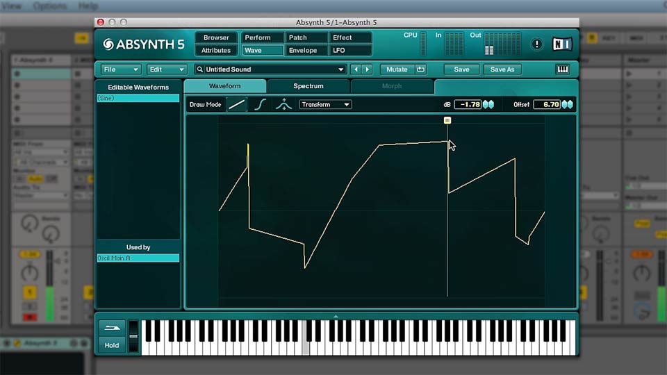 Welcome: Up and Running with ABSYNTH 5