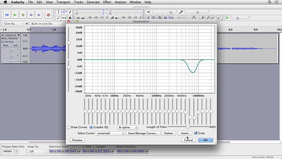 Audacity: Cleaning and Repairing Audio