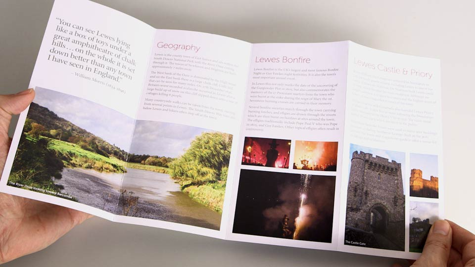 Welcome: Designing a Brochure