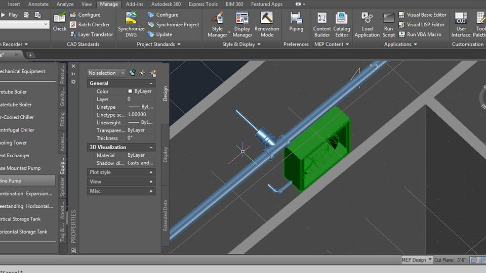 creating sprinkler and firealarm systems with autocad