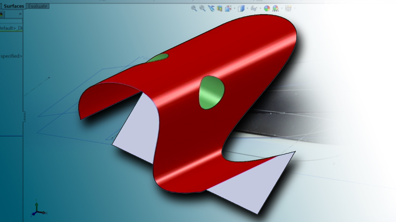 Welcome: Surfacing with SOLIDWORKS