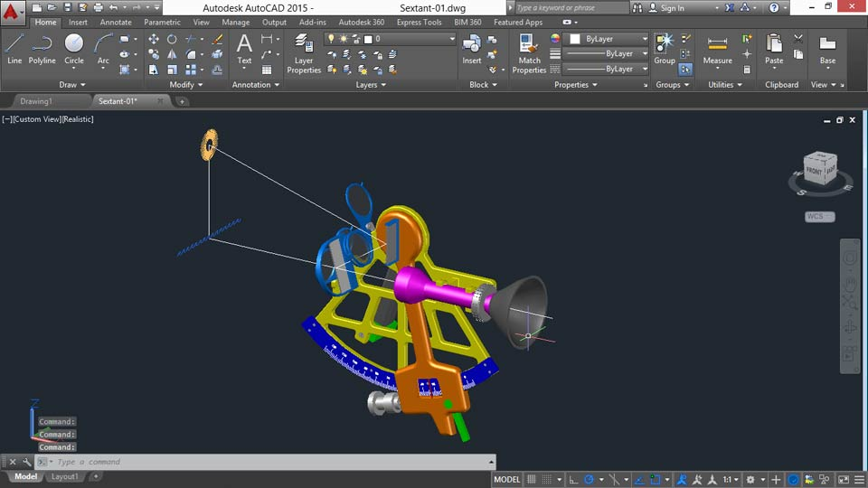 Documenting Autocad 3d Models