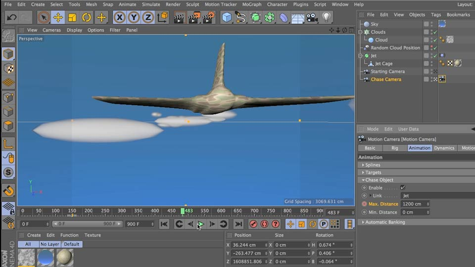Cinema 4D: Camera Animation