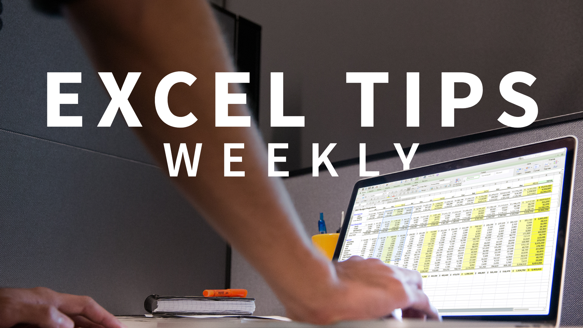 Use random number functions for sorting and creating sample data: Excel Tips Weekly
