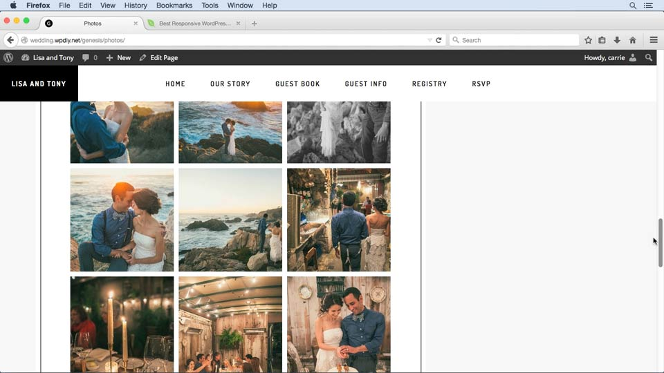 Welcome: WordPress and Genesis DIY: Weddings and Special Events