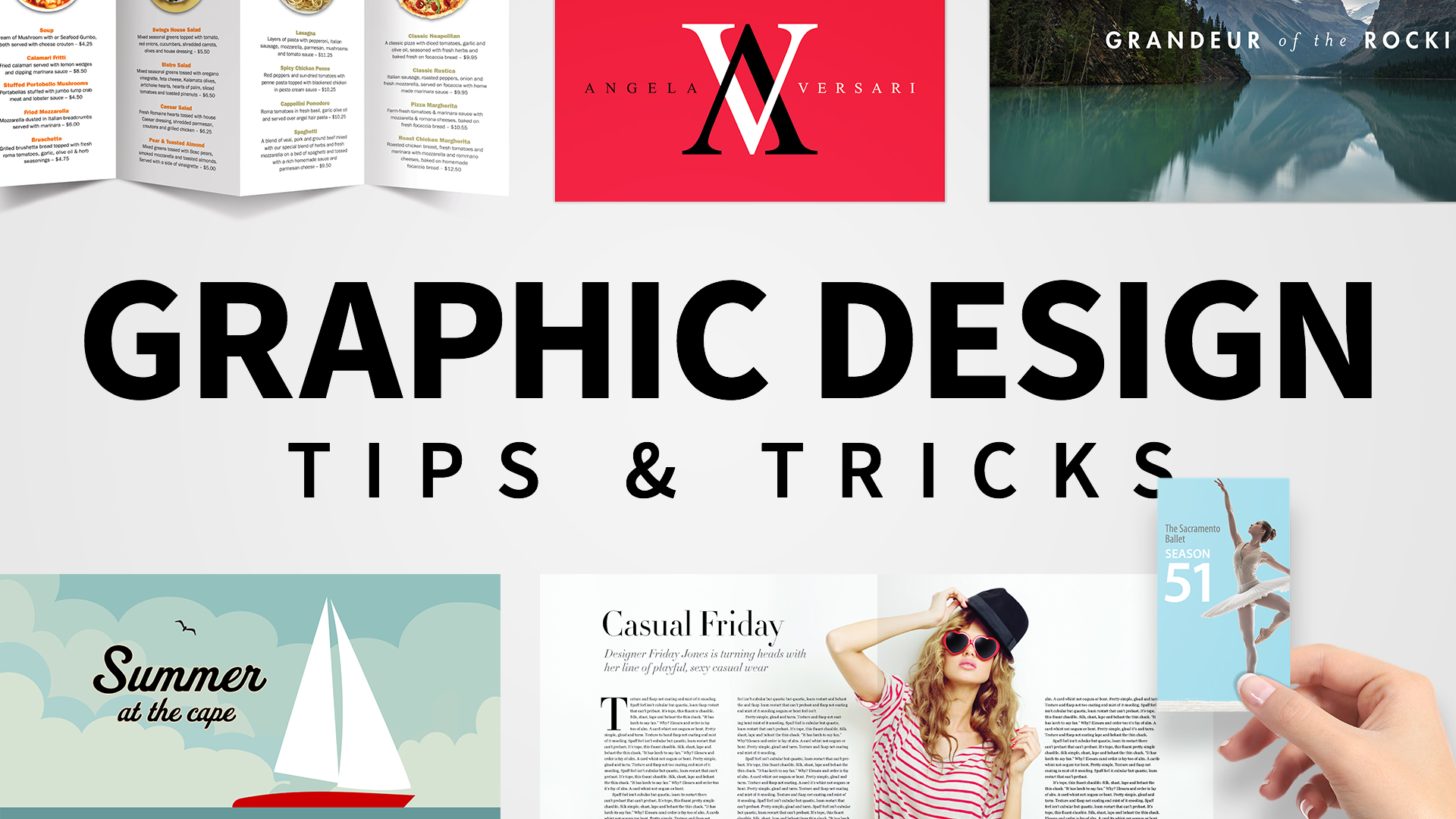A type of luxury: Graphic Design Tips & Tricks Weekly