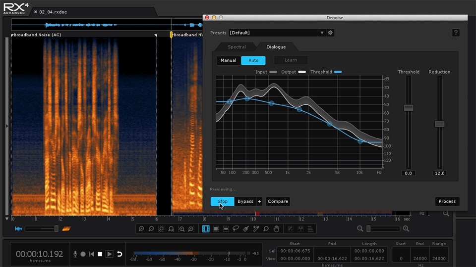 Welcome: Repairing and Enhancing Audio with iZotope RX 4
