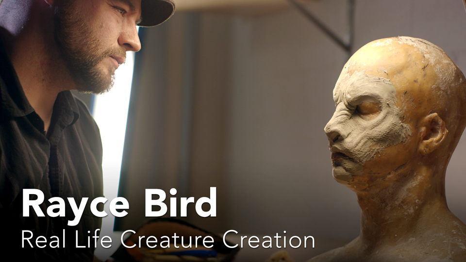 Rayce Bird: Real Life Creature Creation - Preview: Rayce Bird: Real Life Creature Creation