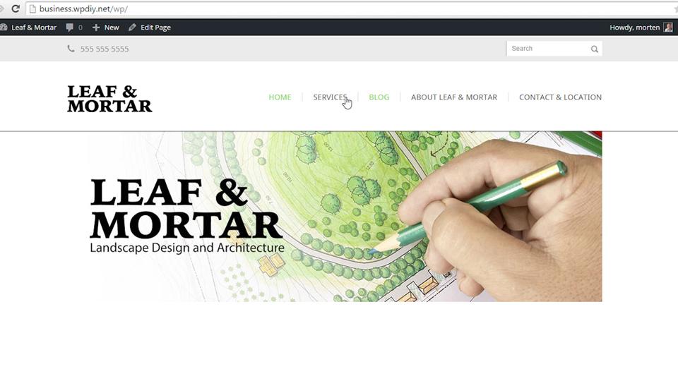 Welcome: WordPress DIY: Small Business Website