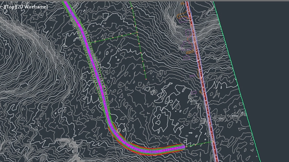 Autocad Civil 3d Intersecting New Roads With Existing Roads