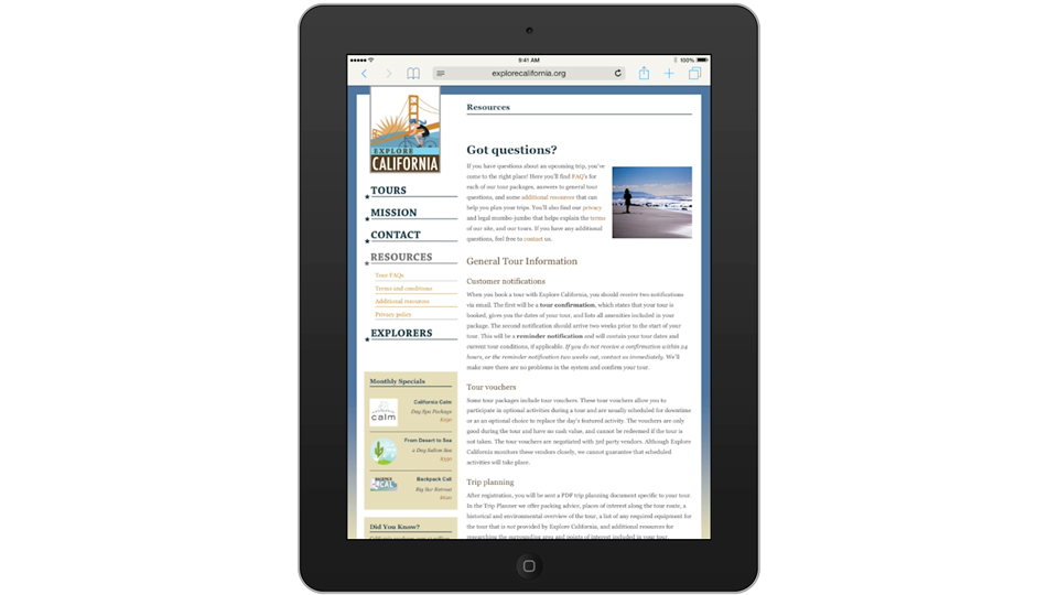 Welcome: Mobile for Business: Setting Up Your iPad and iPhone