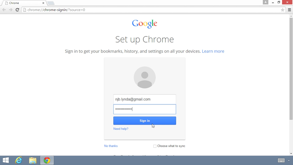 Welcome: Up and Running with the Chrome Browser