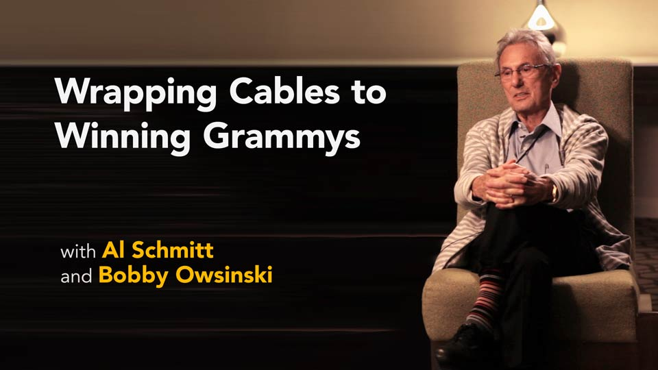 Preview: Al Schmitt with Bobby Owsinski: Wrapping Cables to Winning Grammys