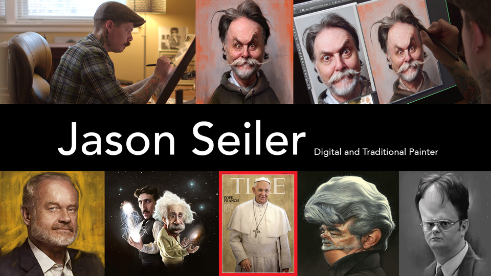 Jason Seiler: Digital and Traditional Painter - Preview: Jason Seiler: Digital and Traditional Painter
