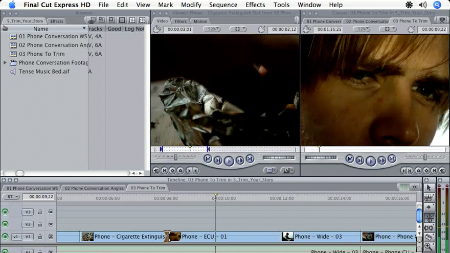 Welcome: Final Cut Express HD 3.5 Essential Training
