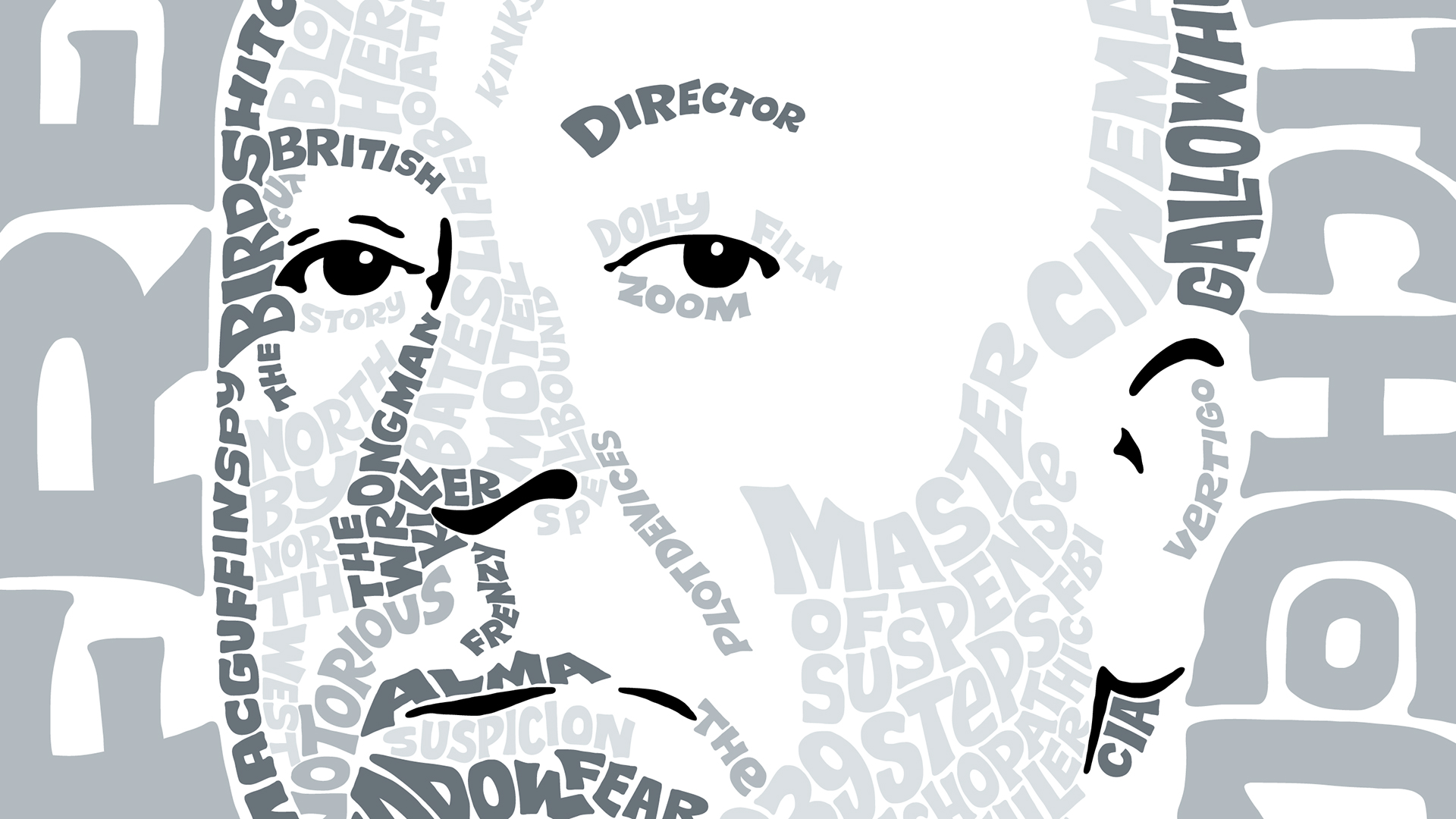 creating a hand drawn type portrait