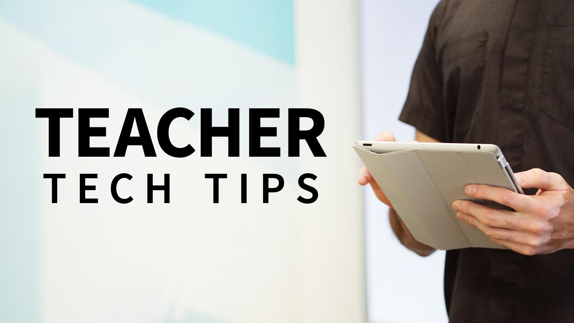 Teacher tech tips weekly sciox Choice Image