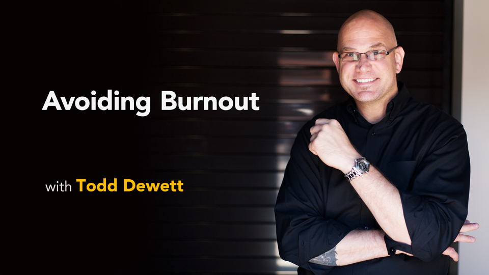 Welcome: Avoiding Burnout