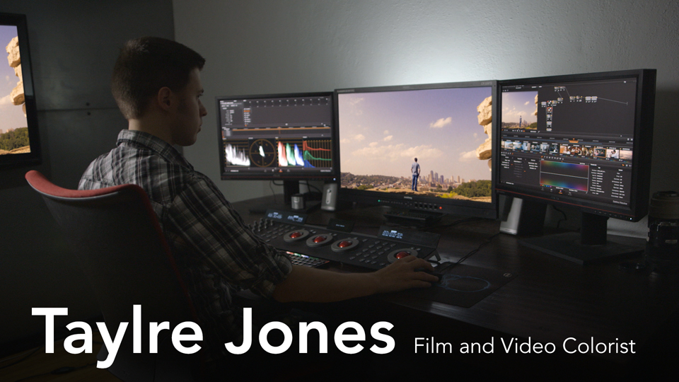 Taylre Jones, Film and Video Colorist
