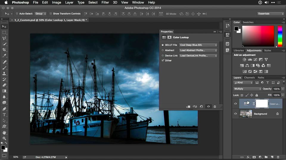 Welcome: Photoshop CC Adjustment Layer and Blend Mode Workshop