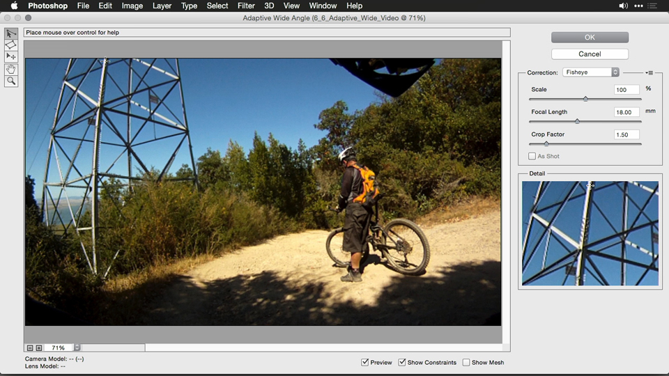 What you'll learn in this course: Using and Creating Lens Profiles in Adobe CC Applications