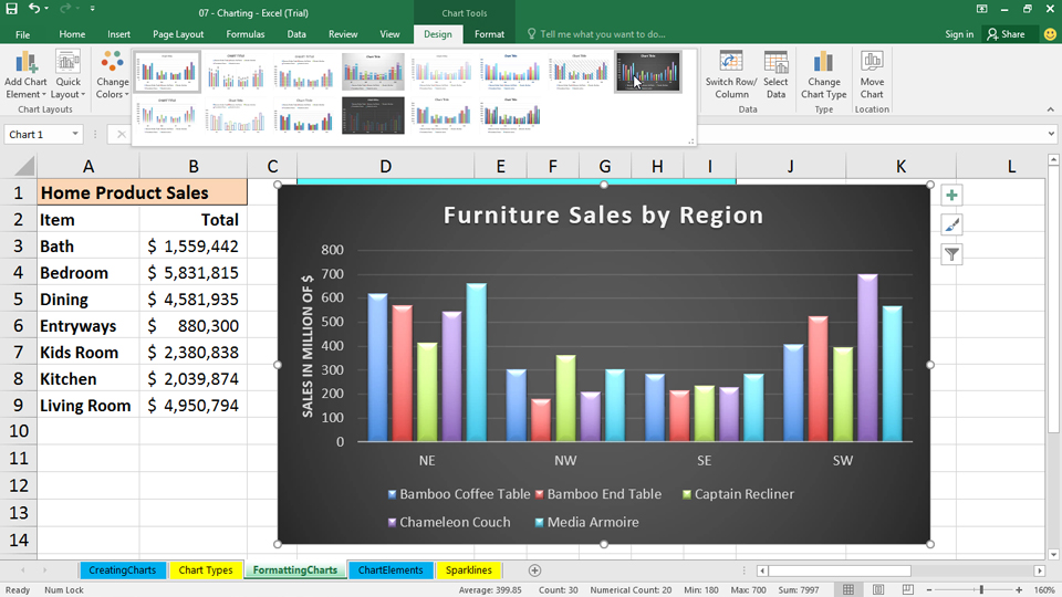 how to use a formula to link data in excel