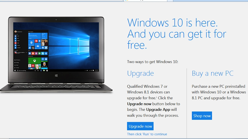 Welcome: Migrating from Windows 7 to Windows 10