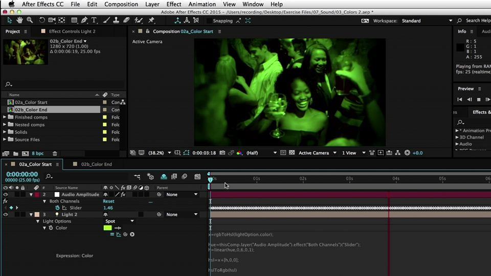 Linking properties together: After Effects Expressions for Premiere Pro Editors