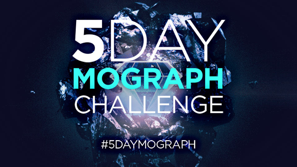 Day 5 challenge: Light and dark: 5-Day Mograph Challenge: Animating the Elements