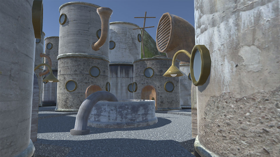 Creating seamless textures: Creating a Game Environment in Blender and Unity