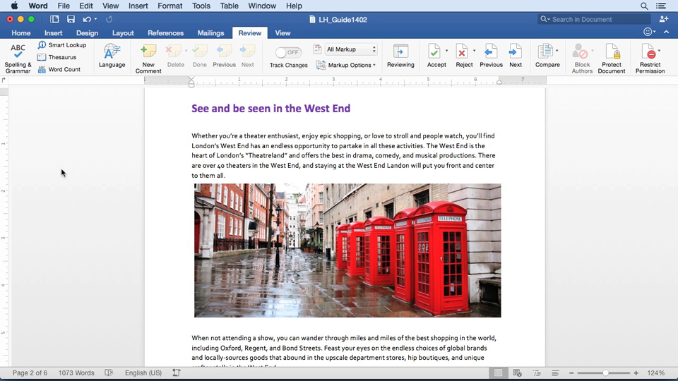 Welcome: Office 365 for Mac: Word Essential Training