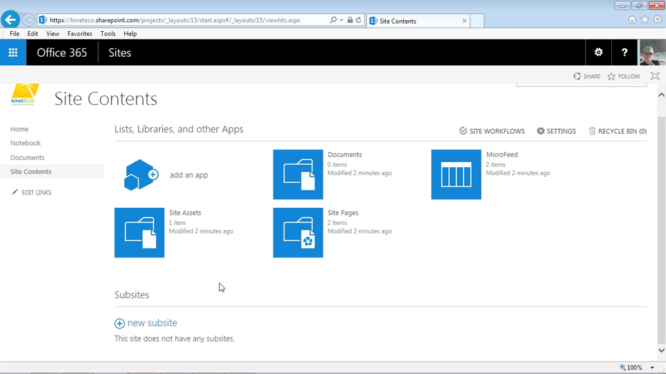 Welcome: Managing Projects with SharePoint 2013