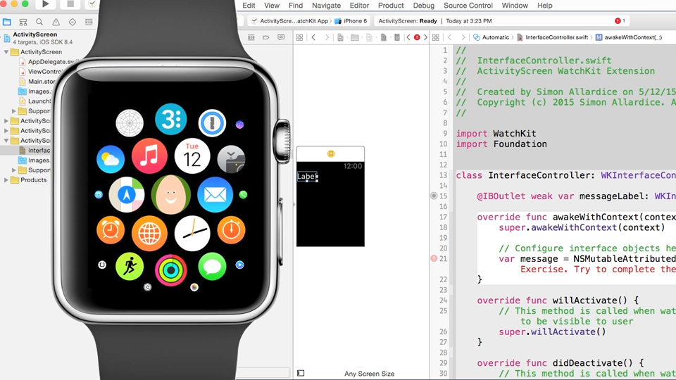 Apple Watch: First Look with Official Tutorials