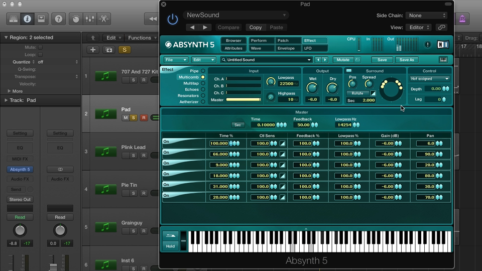 Welcome: Synthesis and Sampling with ABSYNTH