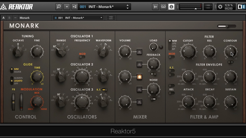 REAKTOR: Advanced Instruments and Effects