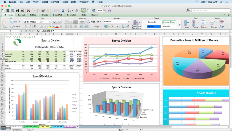 Excel For Mac  Charts In Depth